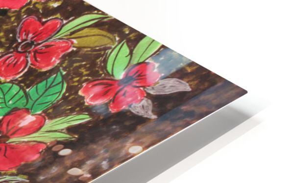 Redflowers HD Sublimation Metal print