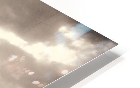 Urban Loneliness - The Bridge HD Sublimation Metal print
