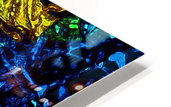 Tangled Transformation 3 HD Sublimation Metal print