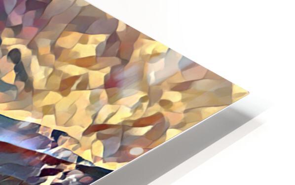 Lake Crescent HD Sublimation Metal print