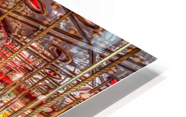 Galloping in Circles HD Sublimation Metal print