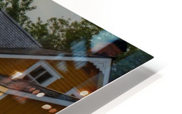 Maison Xavier-Blanchette Embleme du parc Forillon HD Sublimation Metal print