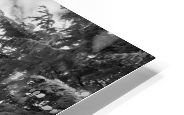 Infrared Scotland graveyard HD Sublimation Metal print