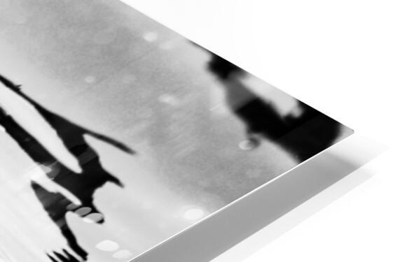 B&W Silky  HD Sublimation Metal print