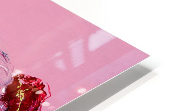 Pink Study East HD Sublimation Metal print