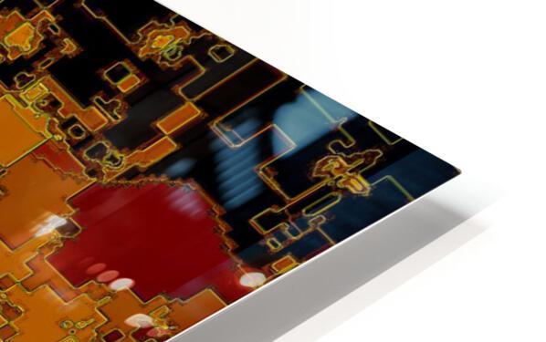 Mayan Sun HD Sublimation Metal print