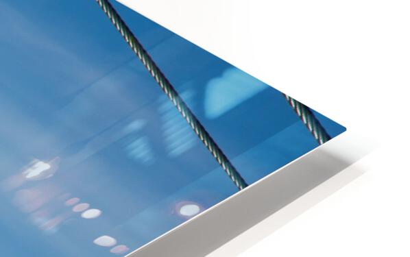 Steel Sky HD Sublimation Metal print