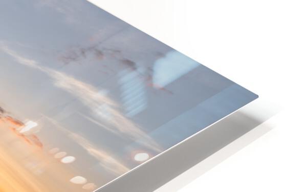 Corney Brook Sunset HD Sublimation Metal print