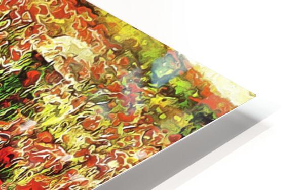 Hidden in the Poppy Fields HD Sublimation Metal print