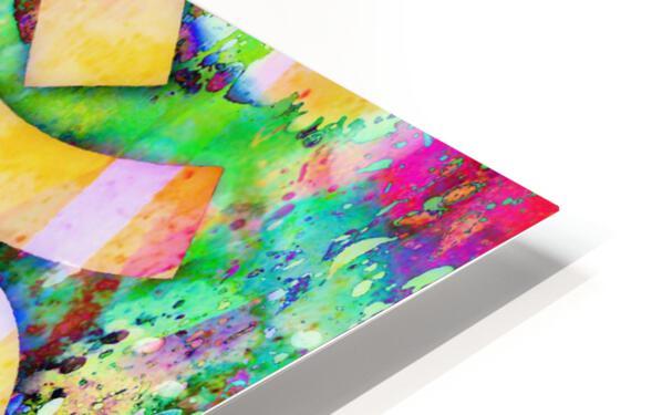 Om Rays HD Sublimation Metal print