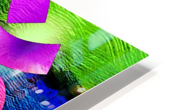 Om Waves HD Sublimation Metal print