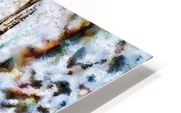 Fall of the Berlin Wall HD Sublimation Metal print