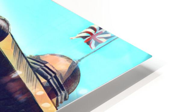 Sunny Day in London HD Sublimation Metal print