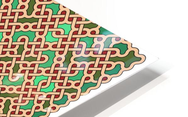 Celtic Maze 5024 HD Sublimation Metal print