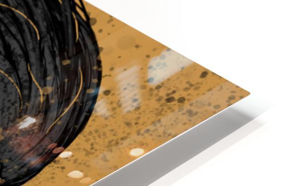 Precious Metals - Concept Art 1 - Gold HD Sublimation Metal print
