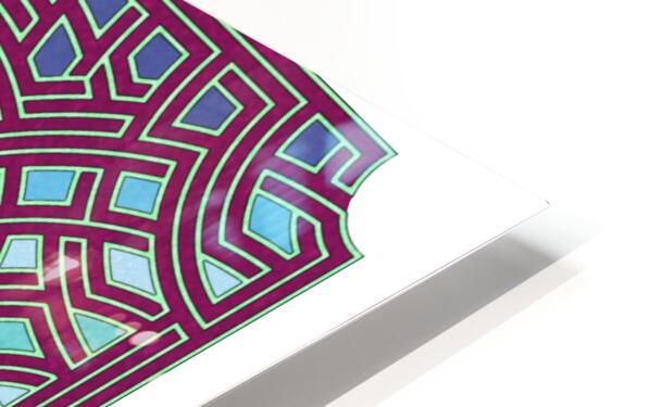 Labyrinth 1803 HD Sublimation Metal print