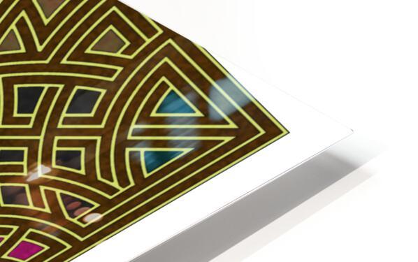 Labyrinth 1807 HD Sublimation Metal print