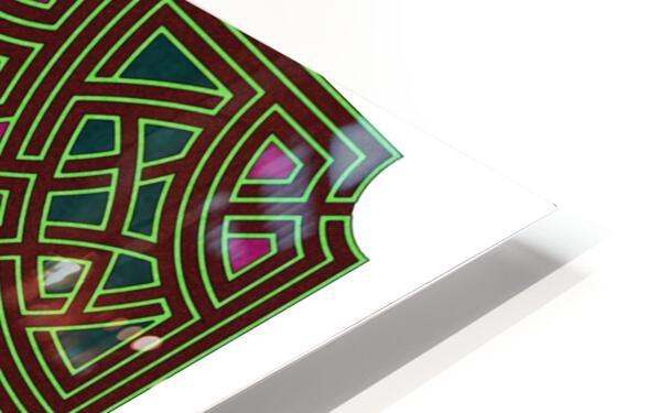 Labyrinth 1802 HD Sublimation Metal print