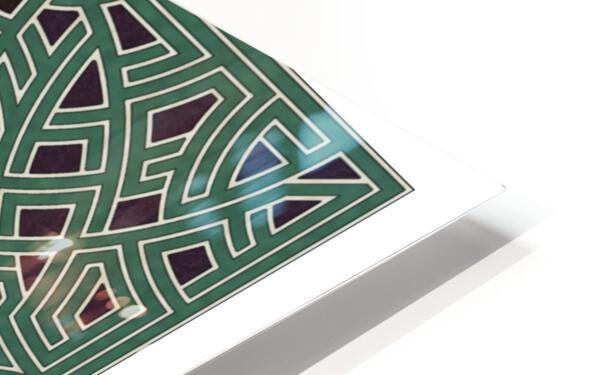 Labyrinth 1808 HD Sublimation Metal print