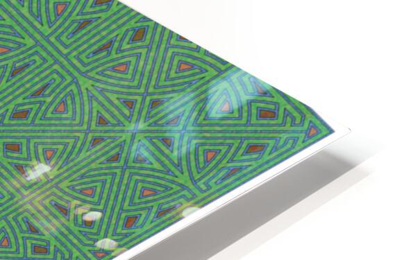 Labyrinth 3605 HD Sublimation Metal print