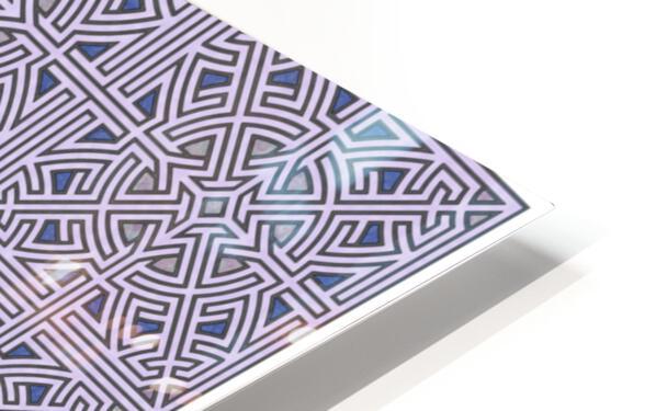 Labyrinth 3608 HD Sublimation Metal print