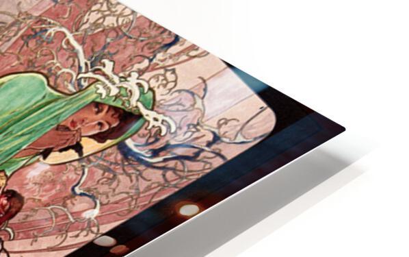 Seasons by Alphonse Mucha Art Nouveau Xzendor7 Old Masters Art Reproductions HD Sublimation Metal print