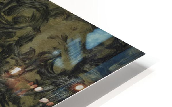 The Arts: Pareidolia HD Sublimation Metal print