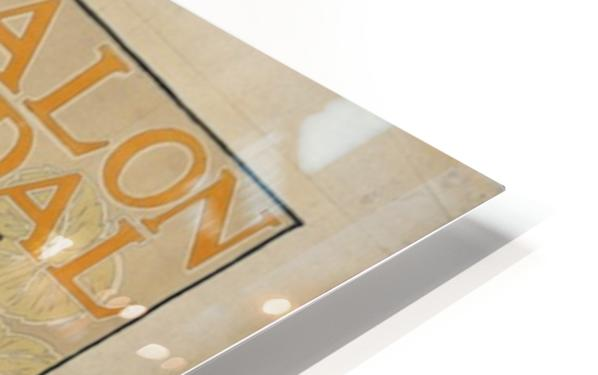 Alexandre-de-Riquer---Salon-Pedal HD Sublimation Metal print
