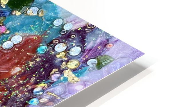 Rained Confetti  HD Sublimation Metal print