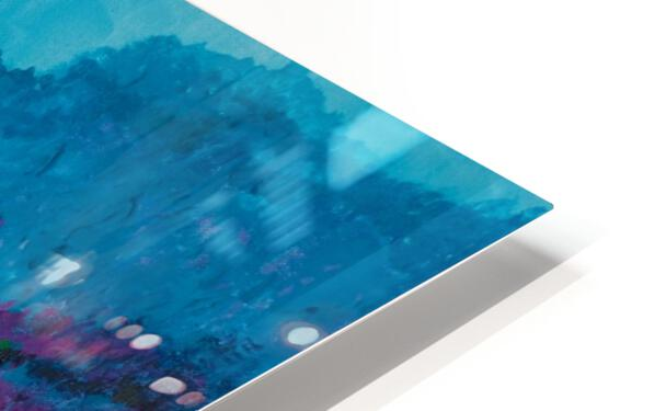 Blue Mountains HD Sublimation Metal print