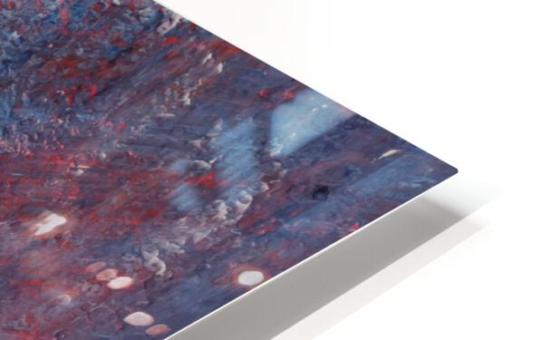 In a Hazy Place HD Sublimation Metal print