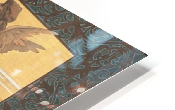 Alexandre-de-Riquer---Winged-nymph-at-sunrise HD Sublimation Metal print