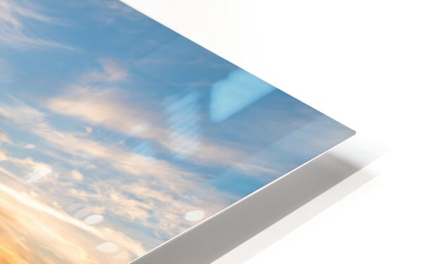 Seaside Sunset HD Sublimation Metal print