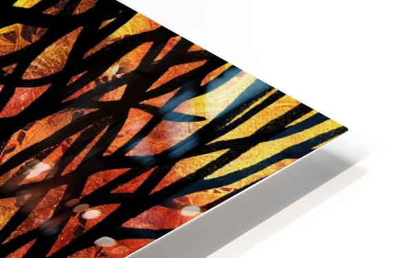 Abstract Fall Forest HD Sublimation Metal print