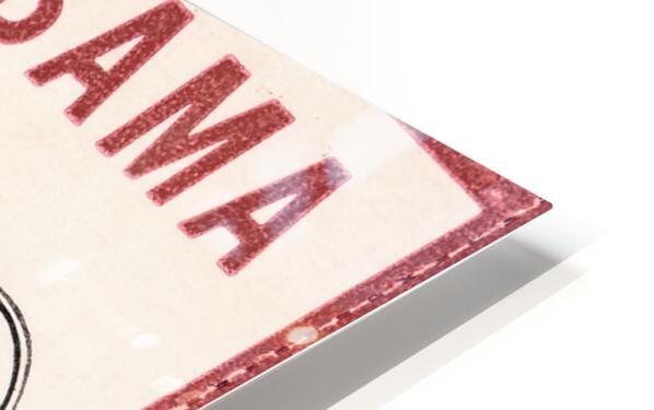 1981 Alabama Football Ticket Stub Art HD Sublimation Metal print
