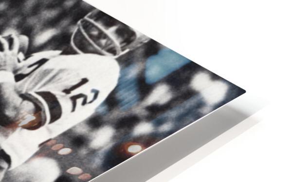 Retro Dallas Cowboys Roger Staubach Photo Art HD Sublimation Metal print
