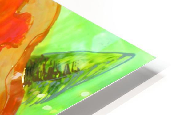 Polyptic with irises 4 by Vali Irina Ciobanu HD Sublimation Metal print