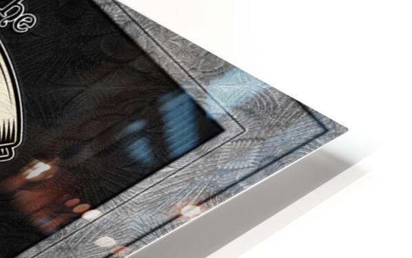 CO2 Guy Certified Real Global Climate Menace BLNDARK HD Sublimation Metal print