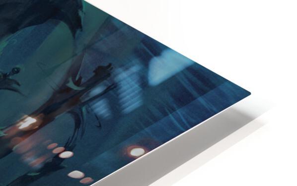 Atlantis Dolphins HD Sublimation Metal print