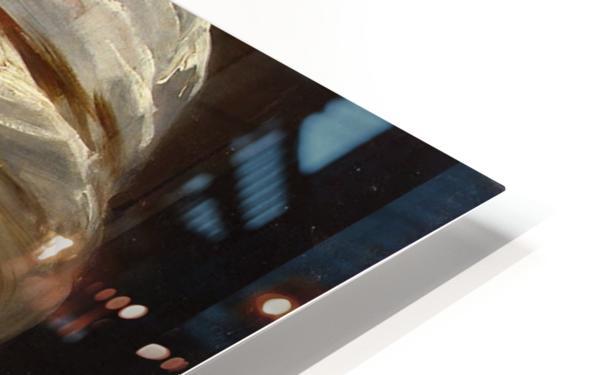 Head of an Arab HD Sublimation Metal print