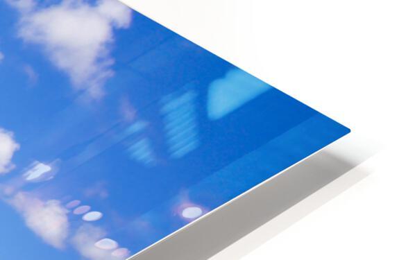 Brilliant Blue Skies Over Hanauma Bay Hawaii HD Sublimation Metal print