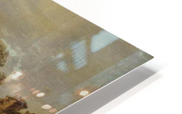 Landscape with a Peasant Cottage HD Sublimation Metal print