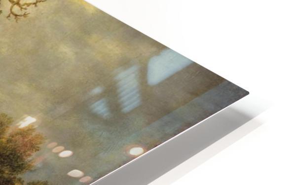 Landscape with Oak HD Sublimation Metal print