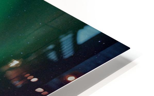 Aurora swirl HD Sublimation Metal print