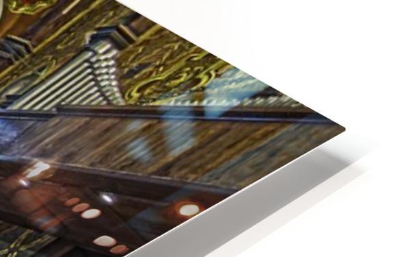 Church Interior HD Sublimation Metal print