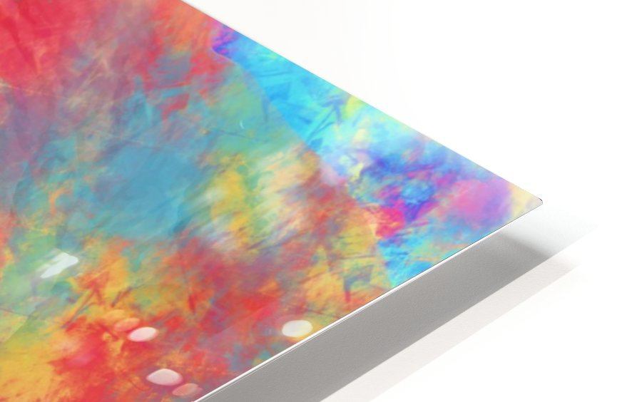 Abstract Elephant HD Sublimation Metal print
