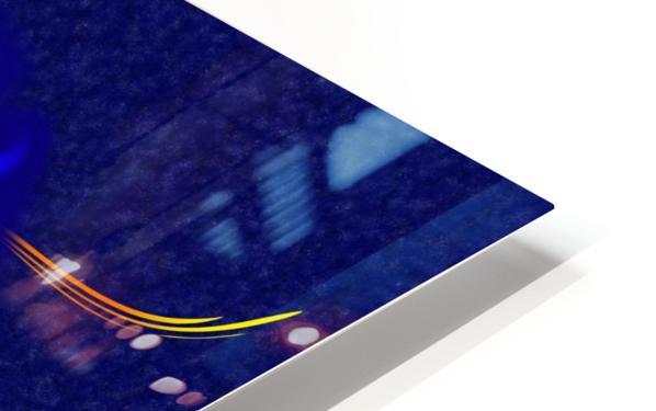 Macrachantis V1 - colourful fish HD Sublimation Metal print