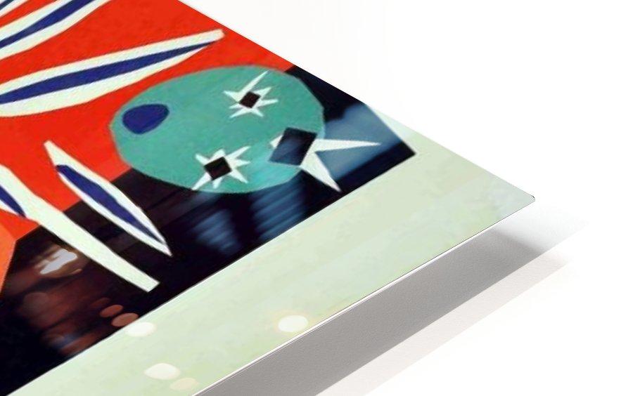 Henri Matisse Original vintage poster for Nice HD Sublimation Metal print