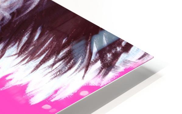 marie in black HD Sublimation Metal print