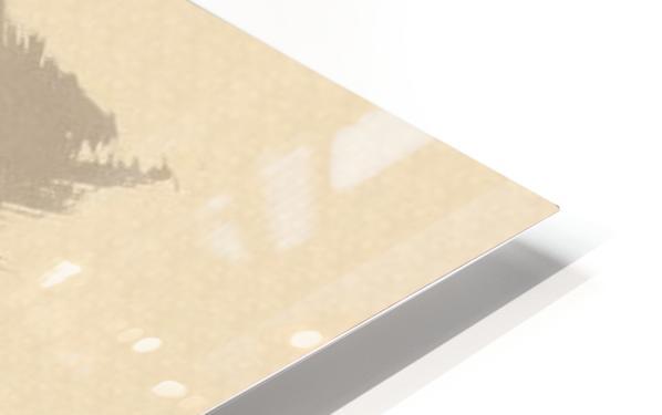 Nose Flute HD Sublimation Metal print